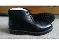 Fat Face Men's Ankle Boots, size 8 (42), as new in box