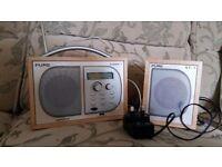 Pure digital radio and additional speaker