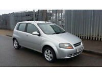 Chevrolet Kalos, low miles and great condition, fully serviced before selling.