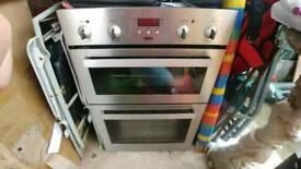 Zanussi built in double oven