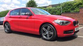 2012 BMW 1 Series 2.0 118d Sport 5dr RED Semi-Auto