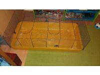 Indoor rabbitt/guinipig cage