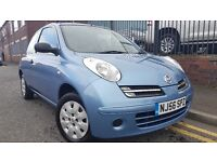 2006 Nissan Micra 1.2 16v Initia 3dr Hatchback, Ideal car for first time drivers, £1,195 p/x welcome
