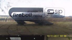 SIP Fireball 201DVS 160,000 to 240,000 BTU Propane Gas Space Heater