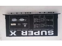 Behringer Super X electronic crossover / Limiter