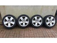 VW Audi Seat Skoda Alloy Wheels 225x45x17 5x112