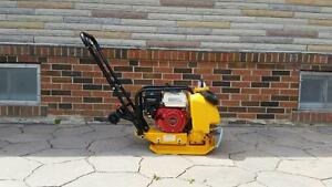 HOC C60 - PLATE COMPACTOR TAMPER 14 INCH + WATER KIT + WHEEL KIT + FREE SHIPPING + 1 YEAR ALL INCLUSIVE WARRANTY !!