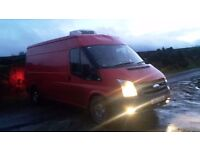 2008 ford transit fridge van