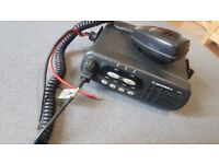 CB Radio with Power Lead and Mic - Motorola