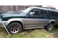 Breaking For Spares Mitsubishi L200,2001 ,No Engine Or Gearbox,All Other Parts Available.