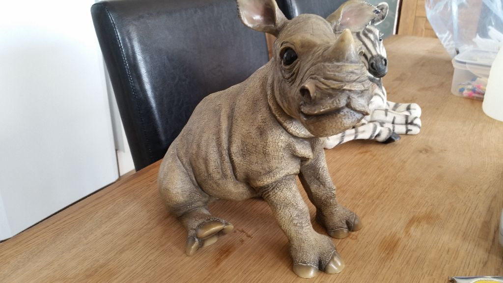 Rhino Ornament By Leonardo In Plymouth Devon Gumtree