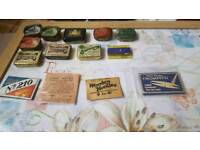 Old gramophone NEEDLE tins/packets