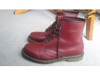Dr Martens Cherry Red Size 11
