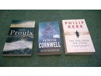 three crime books