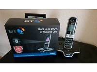 BT 8600 CORDLESS PHONE/ANSWER MACHINE. CALL BLOCK ETC.AS NEW IN BOX.