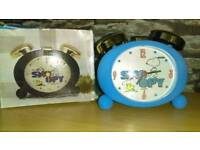 Snoopy clock collectable with original box