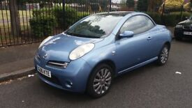 NISSAN MICRA (SPORT) CONVERTIBLE - 06-REG - 2006 (NEW SHAPE) 2 DOOR - 1.6 LITRE - £1500