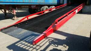 BRAND NEW DOCK LOADING RAMP LOADING DOCK RAMP ALL STEEL WAREHOUSE LOADING DOCK