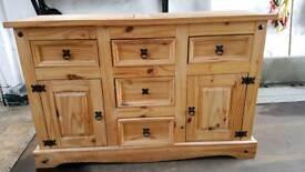 Pine dresser ( waxed )