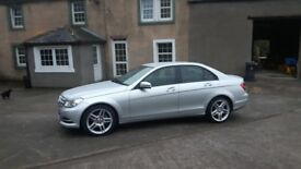 Mercedes C class 18in AMG Alloys