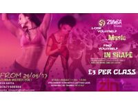 ZUMBA CLASSES - JOIN THE PARTY - IF YOU ARE NOT HAPPY WE'LL REFUND