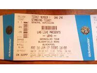 UB40 standing tickets Blackpool June 16th 2017