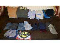 Boys 4-5 years clothes bundle Inc Gap and Next