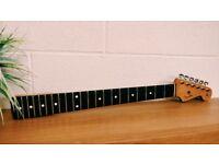 Fender Vintage style neck from a Fender '60s model Stratocaster (MIM) 2008/9.