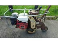 Turfco turf cutter sod Honda engine