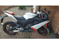 Selling my derbi gpr125 due to buying a car