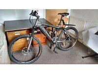 Carrera Banshee mountain bike 17.5'' (with accessories)