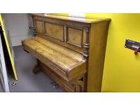 Free upright steinhart walnut piano