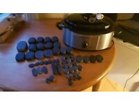 COMPLETE HOT STONE KIT.