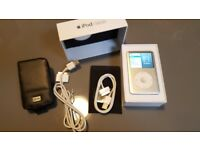 iPod classic 120GB - in box, with new charger and case