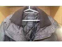 Poolman Men's Black Winter Jacket, XXL, rarely worn, waterproof