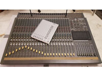 Behringer MX8000 Eurodesk 24/48:8:2 analogue audio mixing desk, boxed, with PSU and manual