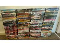 A mixture of over 120 DVDS