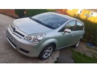2005(55)TOYOTA COROLLA VERSO-1.8(7-SEATER),MOT 23-04-2018,TWO KEYS,ALLOYS,AIR-CONDITIONING,HPI CLEAR