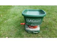Evergreen lawn feed / seed spreader