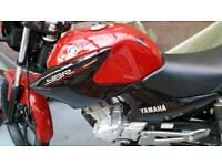ybr Yamaha 125 red 15 plate