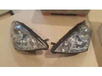 Pair of toyota celica headlight units