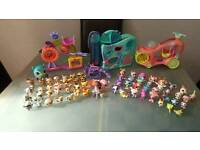 Big bundle of littlest pet shop