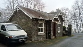 3 bedroom stone build gatehouse in Gattonside to rent