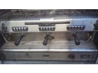 La Spaziale 3 head coffee machine