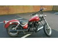 Suzuki Intruder VL125 125cc swaps motorbike cruiser bobber chopper harley