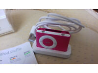 Apple iPod Shuffle 2nd gen. 1gb pink.