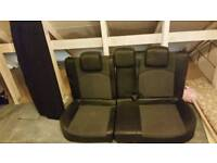 Peugeot 206 gti half leather rear seat