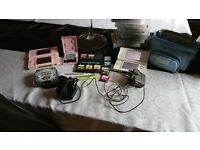 game boy ds consoles and lots of games and accessories bundle