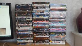 Large Collection Of 98 DVD's Action, Comedy, Kids, Romance, Fantasy
