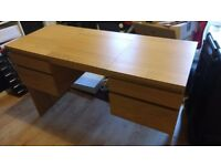 Ikea Ransby Dressing Table with Nils Stool and light